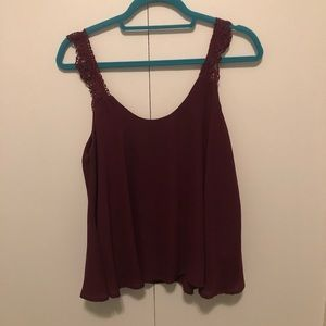 L.A hearts blouse tank top
